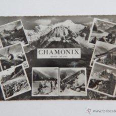 Postales: * CHAMONIX: MONT-BLANC. Lote 47950048