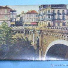 Postales: POSTAL DE FRANCIA. AÑOS 30 40. MONTAUBAN PONT DES CONSULS RUE SAINT JEAN. 621. Lote 47963639