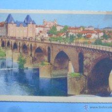 Postales: POSTAL DE FRANCIA. AÑOS 30 40. MONTAUBAN LE PONT VIEUX. 623. Lote 47963661