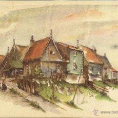 Postales: TARJETA POSTAL 1955 CIRCULADA HOLANDA - EEUU NL078. Lote 48005885