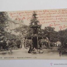Postales: MONTAUBAN: SQUARE DE LA PRÉFECTURE. Lote 48269526