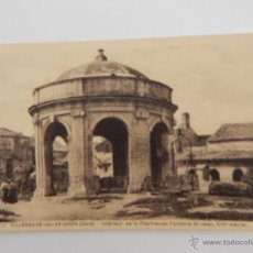 Postales: VILLENEUVE-LÈZ-AVIGNON: INTÉRIEUR DE LA CHARTREUSE-FONTAINE ST-JEAN. Lote 48309361