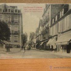 Postales: 1014 - SALIES DE BÉARN. COURS DU JARDIN PUBLIC. FOT. LABOUCHE FRÈRES. CIRCULADA EN 1922.. Lote 48341154