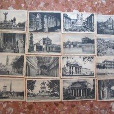 Postales: LOTE DE POSTALES ANTIGUAS, ROMA 1920 . Lote 48354457