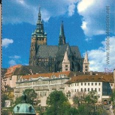 Cartes Postales: PRAGA (REPÚBLICA CHECA), EL CASTILLO DE PRAGA - SIN CIRCULAR. Lote 48397022