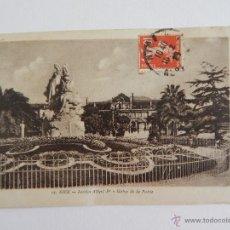 Postales: NICE: JARDIN ALBERT IER. STATUE DE LA POÉSIE. Lote 48427443
