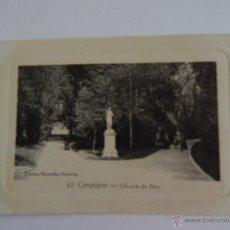 Postales: COMPIÈGNE: UN COIN DU PARC. Lote 48428419