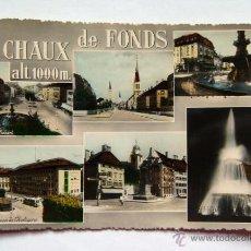 Postales: POSTAL DE LA CHAUX-DE-FONDS SUIZA. Lote 48483444