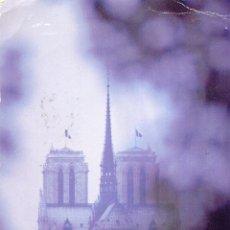 Postales: FRANCIA PARIS NOTRE DAME ENTRE NIEBLAS POSTAL CIRCULADA. Lote 48501538