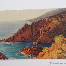 Postales: LE TRAYAS: LES ROCHERS. Lote 48504374