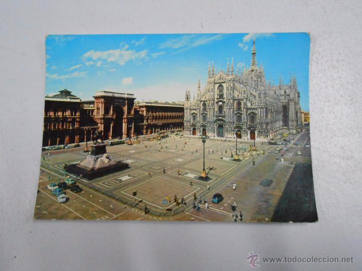 POSTAL DE MILAN. MILANO. ITALIA. PLAZA DEL DUOMO. PIAZZA DEL DUOMO. TDKP2 (Postales - Postales Extranjero - Europa)
