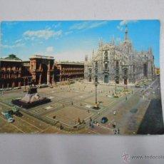 Postales: POSTAL DE MILAN. MILANO. ITALIA. PLAZA DEL DUOMO. PIAZZA DEL DUOMO. TDKP2. Lote 48542092