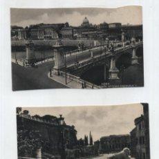 Postales: ROMA.- LOTE DE 2 POSTALES.. Lote 48695126