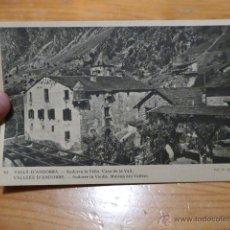 Postales: ANTIGUA POSTAL DE VALLS D' ANDORRA. Lote 48697008