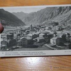 Postales: ANTIGUA POSTAL DE VALLS D' ANDORRA. Lote 48720732