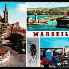 Postales: POSTAL : TROQUELADA , MARSEILLE .. Lote 48750853