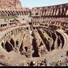 Postales: POSTAL : ROMA , INTERNO COLOSSEO .. Lote 48751072