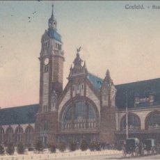 Postales: P- 884. ANTIGUA POSTAL COLOREADA CREFELD, 1914. ALEMANIA.. Lote 48851728