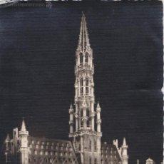 Postales: P- 891. POSTAL FOTOGRAFICA DE BRUSELAS. HOTEL DE VILE.. Lote 48852458