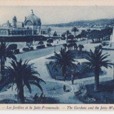 Postales: P- 894. POSTAL FOTOGRAFICA COLOREADA EN AZUL DE NICE.. Lote 48852557