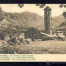 Postales: POSTAL D' ANDORRA: SANTA COLOMA, ESGLÉSIA ROMÀNICA (CLAVEROL 106). Lote 48968786