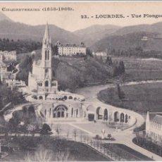Postales: P- 1003. LOURDES - VUE PLOGENATE. SOUVENIR DU CINQUANTENAIRE (1858- 1908).. Lote 48989014