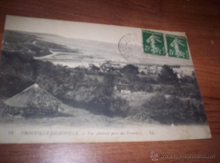 TROUVILLE DEAUVILLE - VUE GENERALE PRISE DES FREMONS (Postales - Postales Extranjero - Europa)