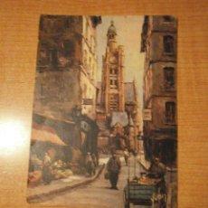 Postales: POSTAL PARIS EN FLANANT CIRCULADA. Lote 49125593