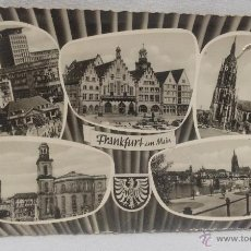 Postales: POSTAL - FRANKFURT AM MAIN . Lote 49414986