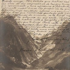 Postales: FRANCIA - LUCHON, CHEMIN DU COL DE VENASQUE.. Lote 49524748