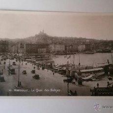 Postales: POSTAL MARSEILLE LE QUAI DES BELGES-EDITIONS LA CIGOGNE Nº75-SIN CIRCULAR. Lote 49634893
