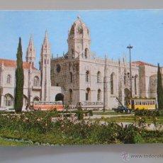 Postales: POSTAL DE PORTUGAL. LISBOA, AUTOBUSES, TRANVÍA. 1139. Lote 49742894