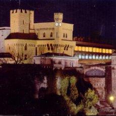 Postales: MONACO MONTECARLO VISTA NOCTURNA DEL PALACIO POSTAL CIRCULADA . Lote 49928435