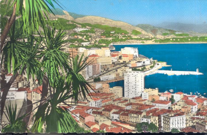 MONACO MONTECARLO VISTA GENERAL POSTAL CIRCULADA (Postales - Postales Extranjero - Europa)