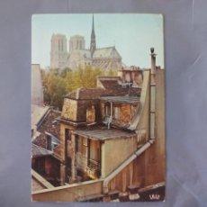 Postales: POSTAL. CIRCULADA. FRANCIA. NOTRE DAME PARIS. 1988. Lote 49943069