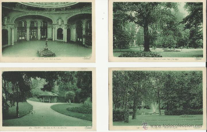Postales: LOTE DE 12 POSTALES ANTIGUAS DE FRANCIA DE VICHY VER FOTOS - Foto 2 - 50144821