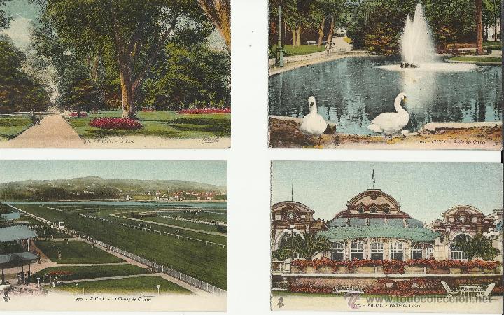 Postales: LOTE DE 12 POSTALES ANTIGUAS DE FRANCIA DE VICHY VER FOTOS - Foto 3 - 50144821