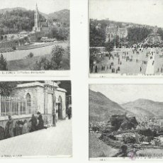 Postales: LOTE DE 12 POSTALES ANTIGUAS DE FRANCIA DE LOURDES VER FOTOS. Lote 50144865