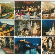 Postales: LOURDES (FRANCIA), DIVERSOS ASPECTOS - EDITIONS P. DOUCET Nº 7 - SIN CIRCULAR. Lote 50403792
