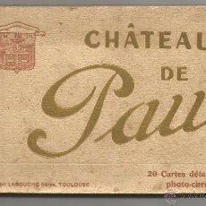 Postales: CHÂTEAU DE PAU .- 20 CARTES DÈTACHABLES PHOTO-CROM .- EDITION PHOTO LABOUCHE . Lote 50444161