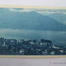 Postales: SALUTI DA GERMIGNAGA - LAGO MAGGIORE PANORAMA. Lote 50485908