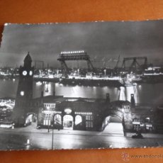 Postales: POSTAL DE HAMBURGO - ST. PAULI - LANDUNGSBRÜCKEN - FOTO DE HANS HARTZ. Lote 50506041