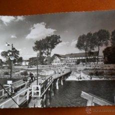 Postales: HAMBURG - SCHULAU A. D. ELBE - WILLKOMM HÖFT - SCHIFFSBGRÜBUNG - FOTO HANS HARTZ - SIN CIRCULAR. Lote 50508071