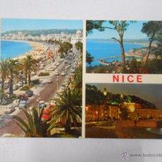 Postales: POSTAL DE NIZA. COSTA AZUL. FRANCIA. VARIAS IMAGENES. TDKP3. Lote 63706955
