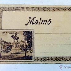 Postales: ALBUM ACORDEON ANTIGUO CON DIEZ VISTAS DE MALMO. SUECIA. PRINCIPIOS S.XX.. Lote 50738234
