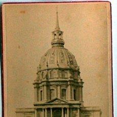 Postales: ANTIGUA Y RARA POSTAL DE PARIS, DOME DES INVALIDES, ANC. MAISON MARTINET, SOBRE 1880. Lote 51015694