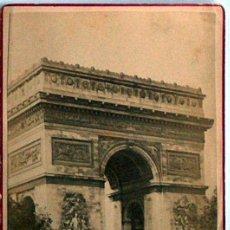 Postales: ANTIGUA Y RARA POSTAL DE PARIS, ARC DE TRIOMPHE DE L'ETOILE, ANC. MAISON MARTINET, SOBRE 1880. Lote 51015771