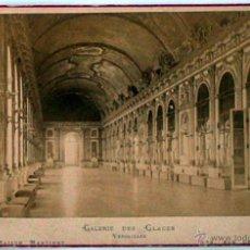 Postales: ANTIGUA Y RARA POSTAL DE PARIS, GALERIE DES GLACES VERSAILLES, ANC. MAISON MARTINET, SOBRE 1880. Lote 51015783