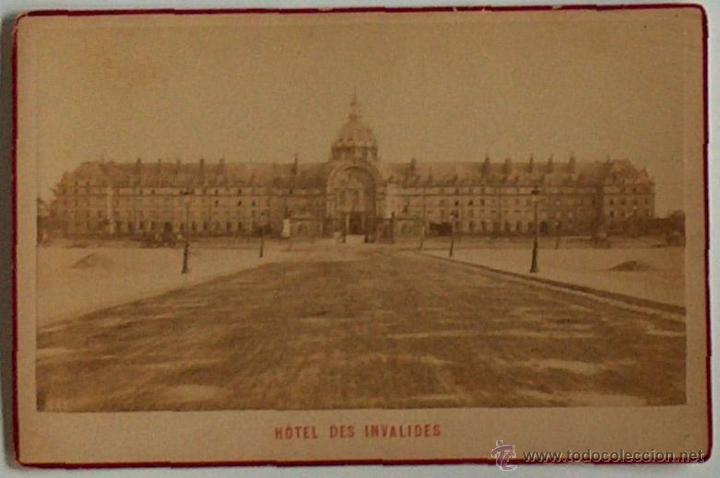 ANTIGUA Y RARA POSTAL DE PARIS,HOTEL DES INVALIDES, ¿ANC. MAISON MARTINET?, SOBRE 1880 (Postales - Postales Extranjero - Europa)