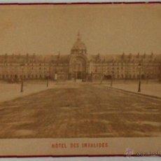 Postales: ANTIGUA Y RARA POSTAL DE PARIS,HOTEL DES INVALIDES, ¿ANC. MAISON MARTINET?, SOBRE 1880. Lote 51015855